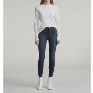 Rag & Bone High Rise Skinny Jeans in Bedford